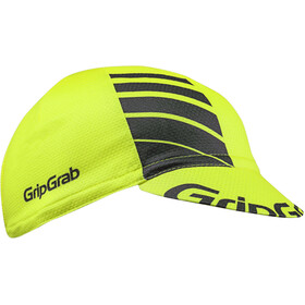 GripGrab Lightweight Summer Cycling Cap yellow hi-vis